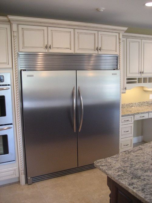 What Is The Size You Need To Plan On In Your Kitchen For A Fridge Freezer This Size