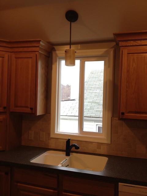 Diamond Prelude, Halston Oak, Honey - Bethlehem - Traditional - Kitchen - philadelphia - by ...