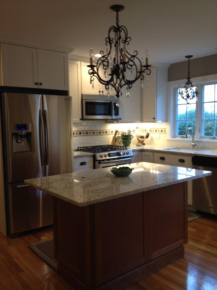 Diamond Stratmore Kitchen - Newton, MA - Kitchen - Boston ...