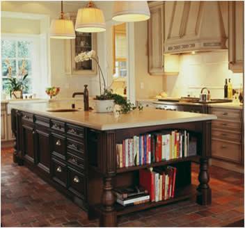 librero en la cocina