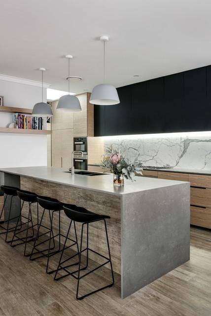 Contemporary Kitchen Interior Design: Dianella Residence