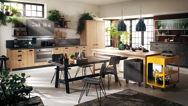 Diesel kitchen industriale cucina melbourne di scavolini