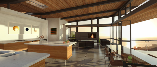 Dillon Residence modern-kitchen