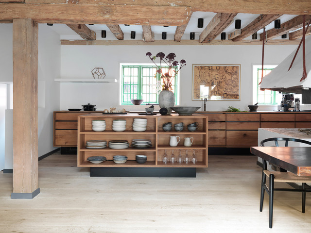 Dinesen bespoke kitchen model rustic-kitchen