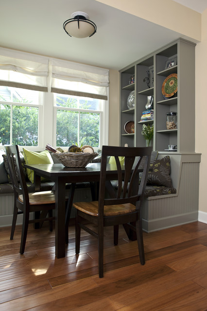 Dining banquette - Traditional - Kitchen - Charleston - by ...