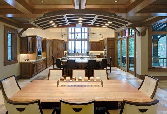 162 white pine - new build traditional-kitchen