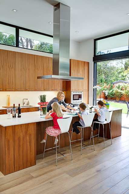 Dining contemporary-kitchen