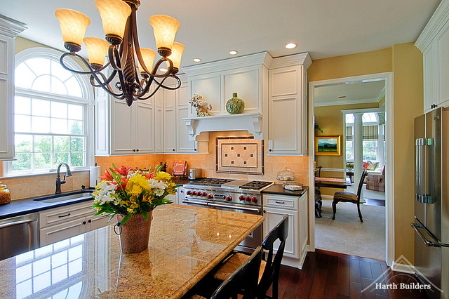 Dining room access traditional kitchen philadelphia for Eagleville pool and spa