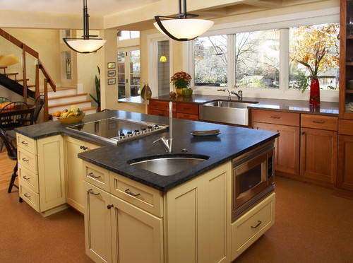 How do you design the best kitchen layout for entertaining? - Houzz