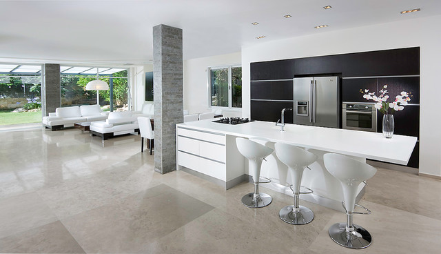 dining room contemporary-kitchen