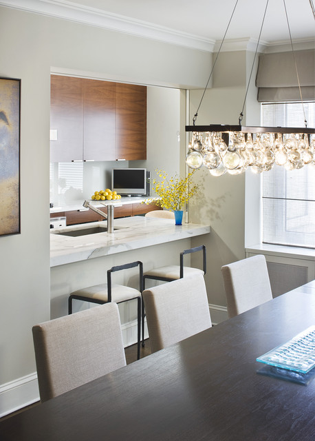 Dining Room Modern Kitchen New York By Laurie