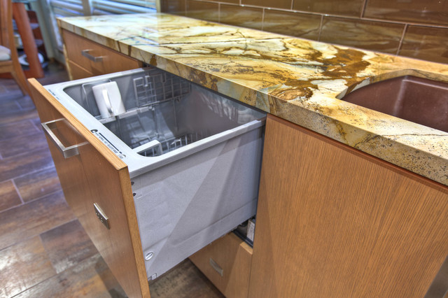 Dishwasher Drawers - Modern - Kitchen - Houston - by GB General Contractors