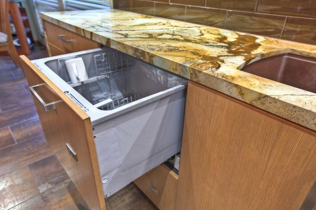 Dishwasher Drawers - Modern - Kitchen - houston - by GB ...