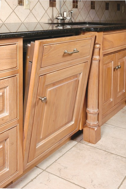 Dishwasher Panel With False Door And Drawer Traditional