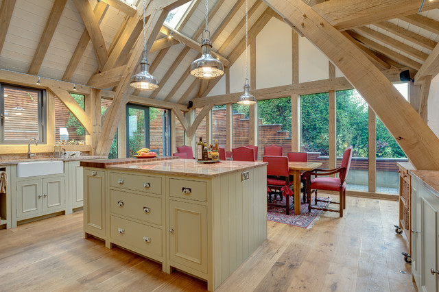 Distinctly Living Neptune Kitchen Traditional
