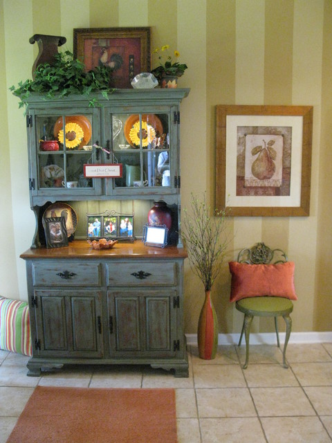 distressed buffet hutch eclectic kitchen other by
