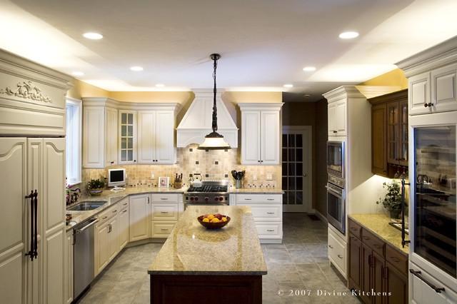 Http Houzz Com Photos 67642 Divine Kitchens Llc Traditional Kitchen Boston