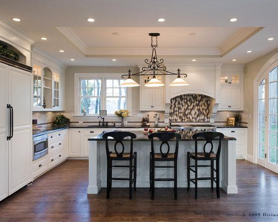 tray ceiling kitchen design ideas photos