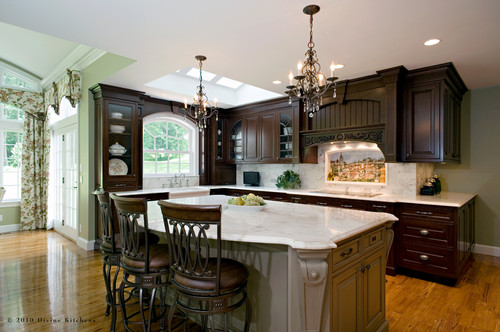 Hi are your chandeliers murray feiss chateau what size for Kitchen design 9 foot ceilings