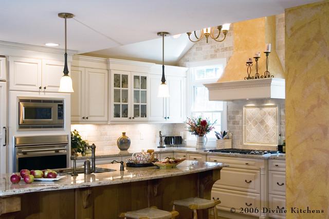 Http Houzz Com Photos 66834 Divine Kitchens Llc Traditional Kitchen Boston
