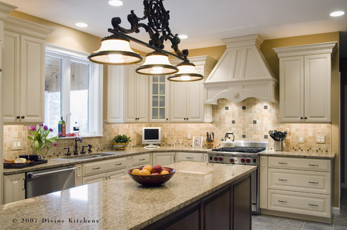 kitchen design by boston kitchen and bath Divine Kitchens LLC
