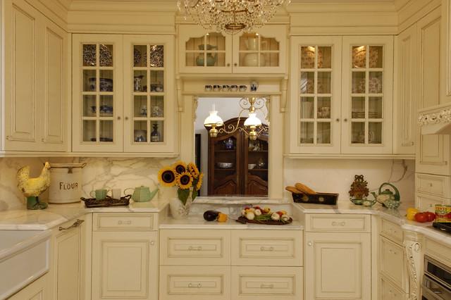 Dix Hills, NY Kitchen, KI1301 traditional-kitchen