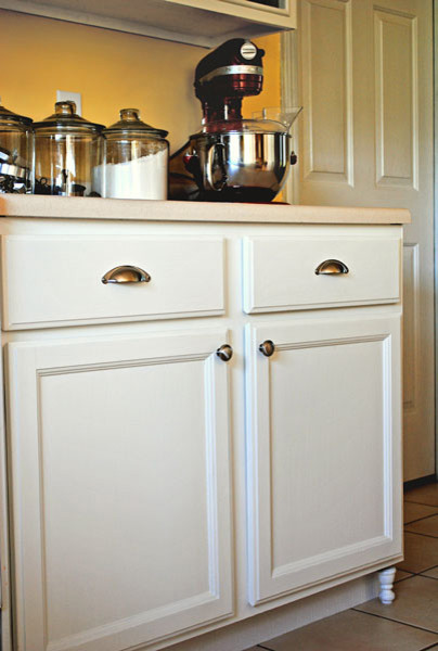 3 Home Decor Trends For Spring Brittany Stager: DIY Kitchen Cabinet Feet