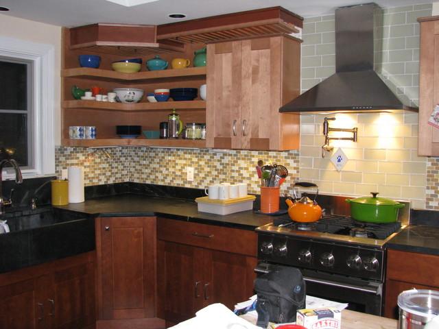 DIY Kitchen remodel eclectic-kitchen