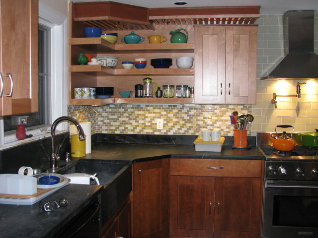 Diy Kitchen Remodel Eclectic Kitchen Boston