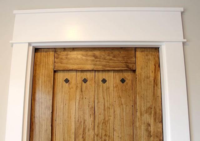 DIY Rustic Pantry Pocket Door Kitchen Dc