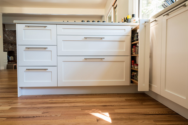 Diy Shaker Ikea Craftsman Kitchen Seattle By