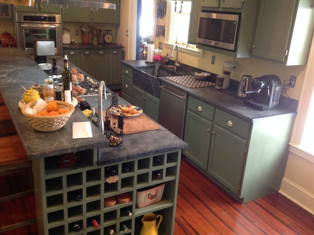 Do It Yourself Kitchen: Do It Yourself Soapstone Countertops & Sink
