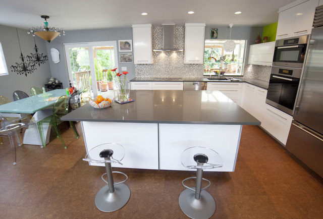 Dodges Classic Carpentry - Contemporary - Kitchen - seattle - by Dodges Classic Carpentry Co