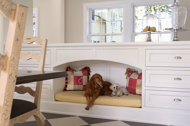 Dog Bed traditional-kitchen