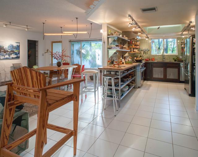 Dolphin House Kitchen modern-kitchen