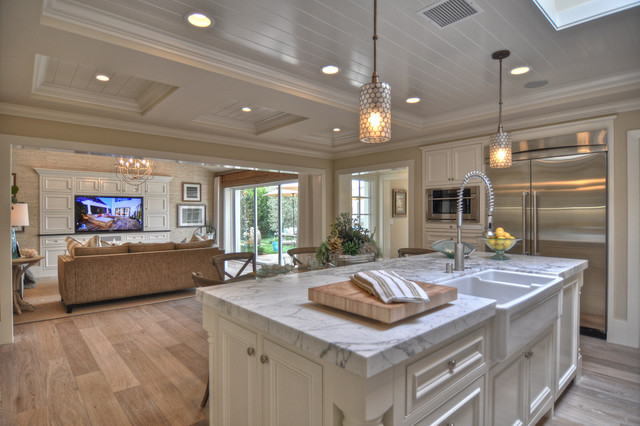 Dolphin Terrace Traditional Kitchen Orange County