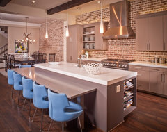Domangue Residence contemporary kitchen