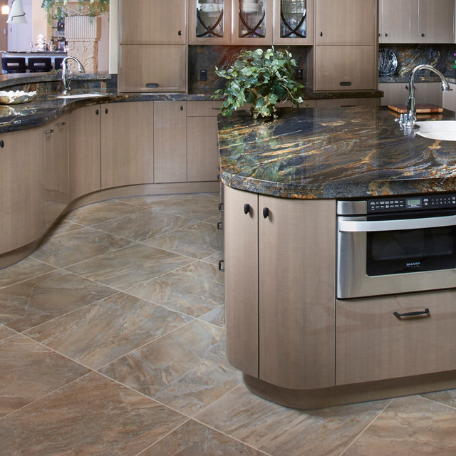 Charming Dome Series Porcelain Tile Kitchen