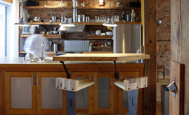 Industrial Kitchen By Esther Hershcovich