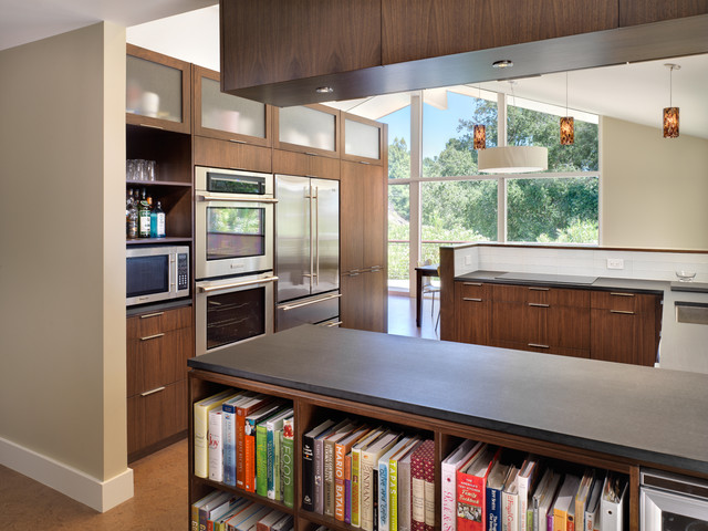 Donald Drive Residence contemporary kitchen