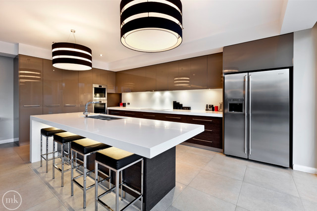 Doncaster New Build Contemporary Kitchen Melbourne By Smith Sons Renovations