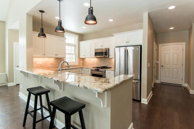 Door County Condominium Contemporary Kitchen