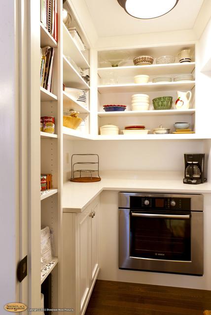 Door style: Savannah Inset | Species: Paint Grade | Finish: White - Traditional - Kitchen ...