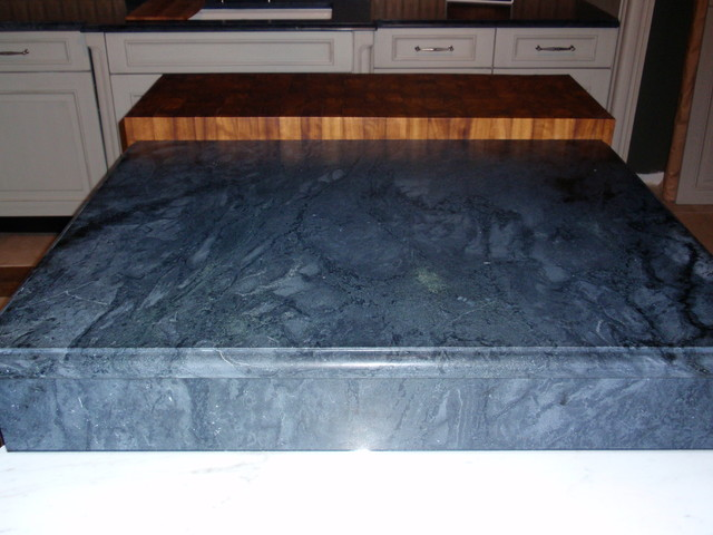 Dorado Soapstone Installed - Kitchen traditional-kitchen