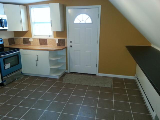 Dormer Addition Kitchen Construction modern-kitchen