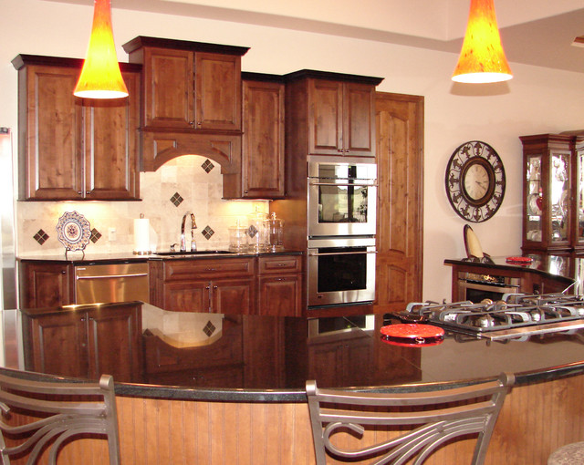 dorncliffe traditional kitchen denver by castle
