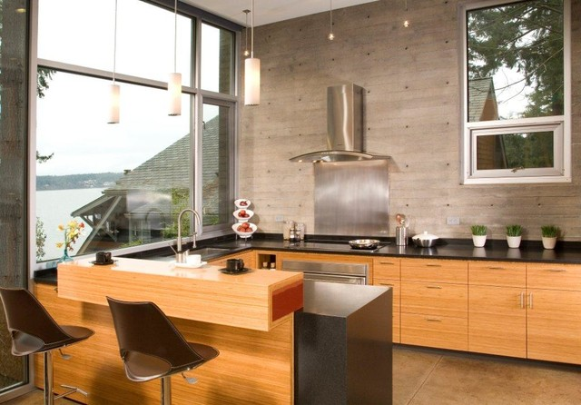 Dorsey Residence Contemporary Kitchen Seattle By Coates Design Archit