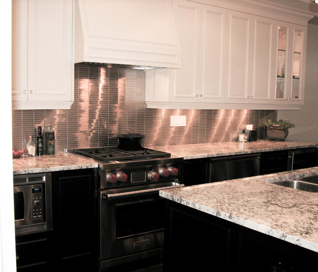 Dorval Drive Kitchen traditional-kitchen