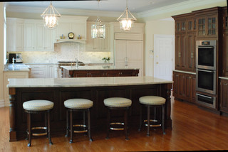 Double Island Delight Traditional Kitchen Philadelphia By Cranbury Design Center Llc