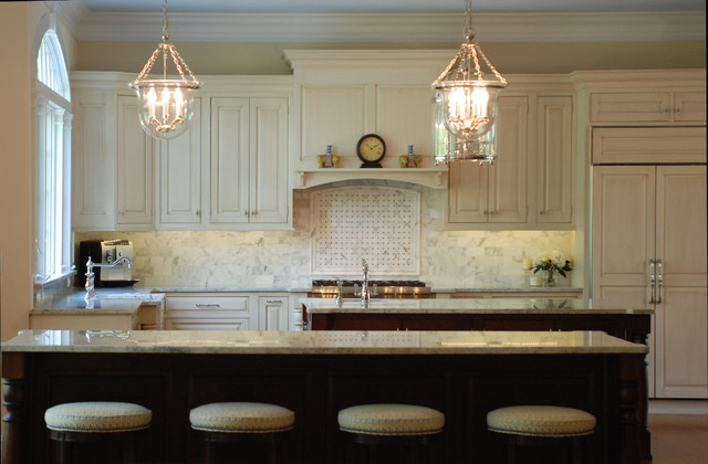 Double Island Delight Traditional Kitchen Other Metro By Cranbury Design Center Llc